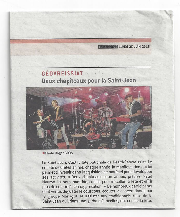 article st jean 2018