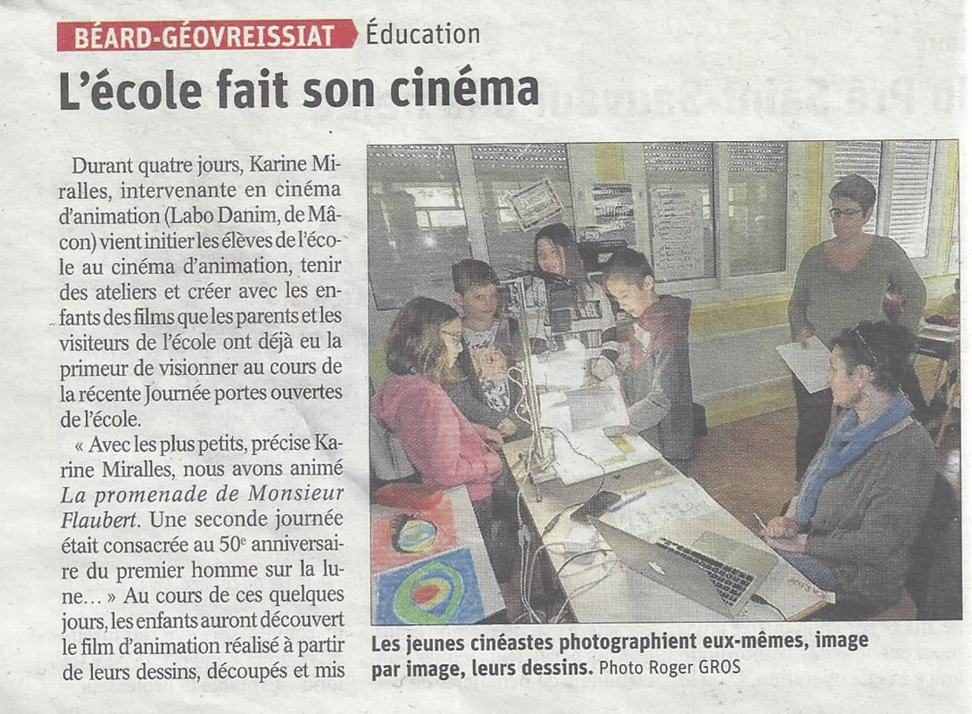 ecole fait son cinema