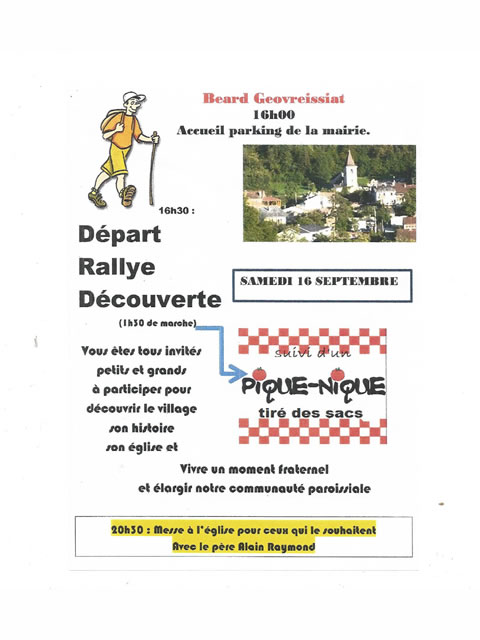 rallye decouverte